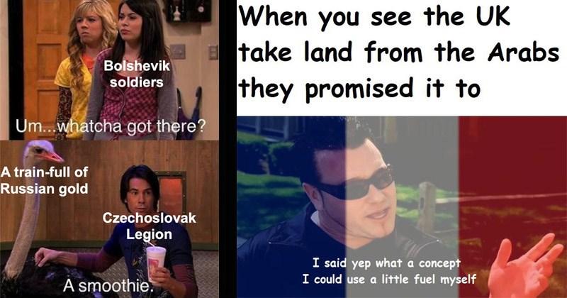 Funny history meme