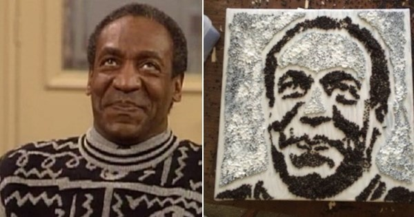 Cringe of the Day: Bill Cosby 'Rapeseed' Portrait Banned From State Fair