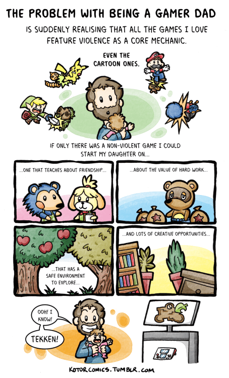 video-games-being-gamer-dad-has-its-drawbacks