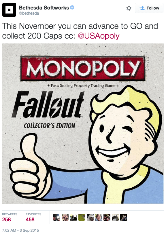 video game news fallout monopoly