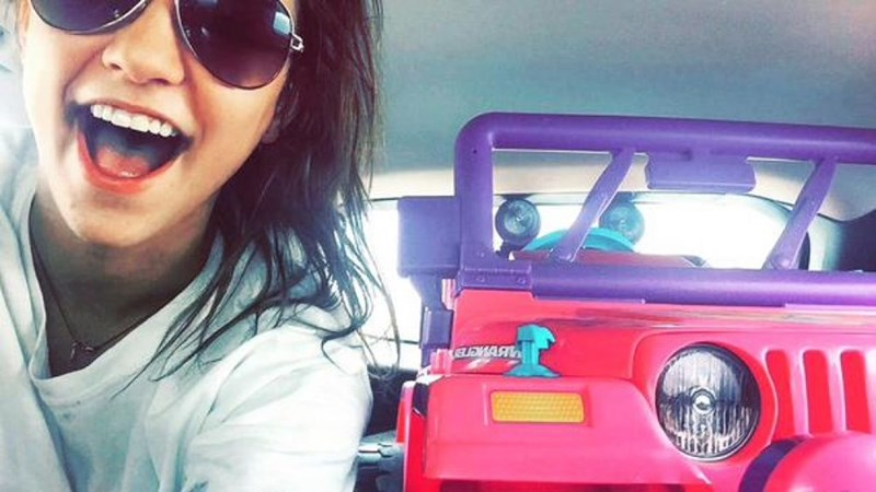 Genius Idea of the Day: Texas Student Rides Barbie Jeep Around Campus After DWI Arrest