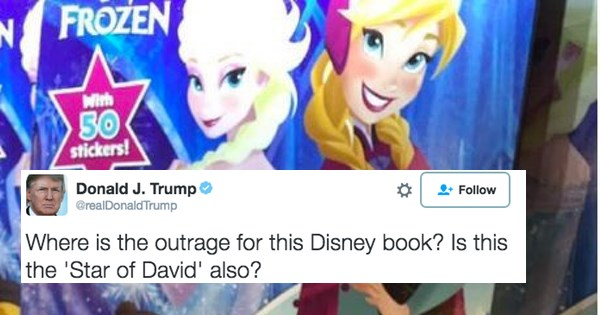 twitter disney donald trump Hillary Clinton election 2016 frozen - 856069