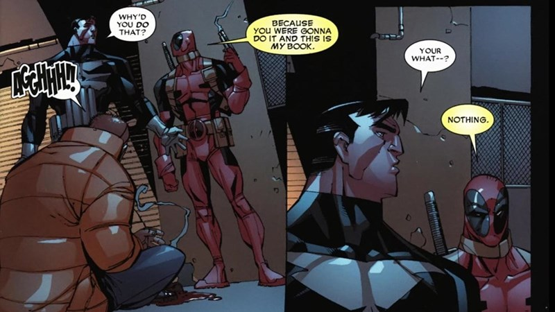 punisher fourth wall deadpool Straight off the Page - 8561066240