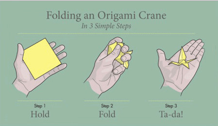 How to Make An Origami Crane for Your Wedding | Martha Stewart ... | 260x449