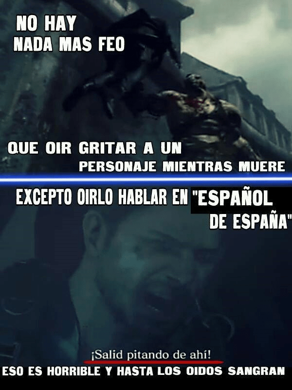 español mal hablado
