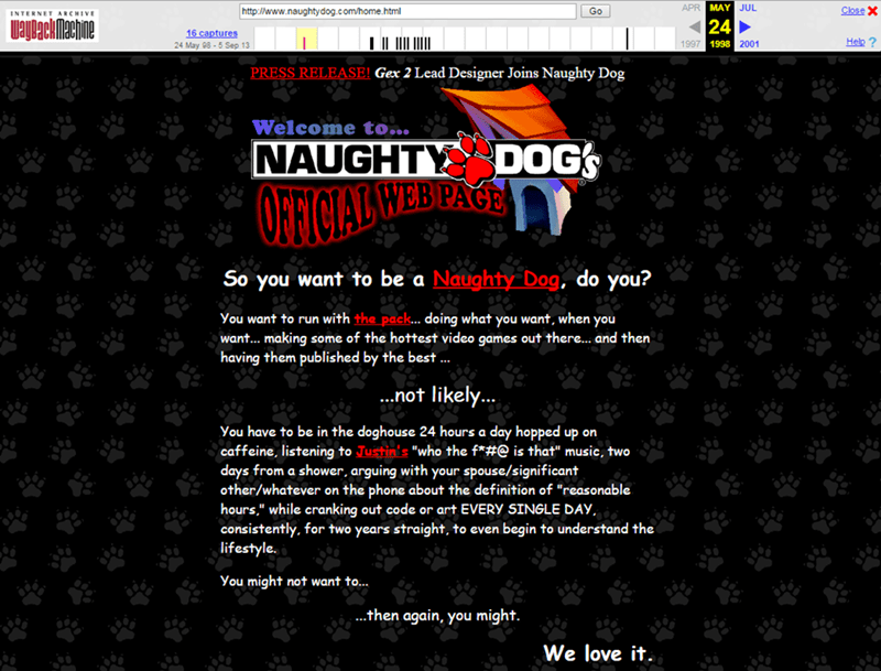 Naughty Dog Was a Humorous Son of a B****!