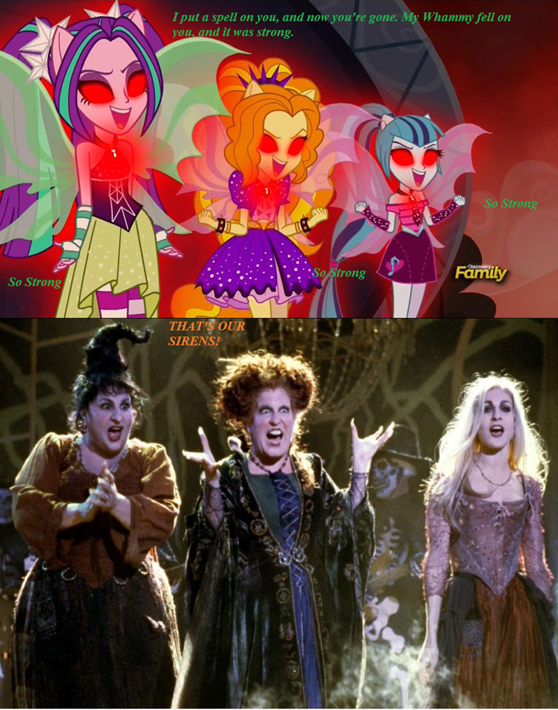 hocus pocus,equestria girls,disney,dazzlings