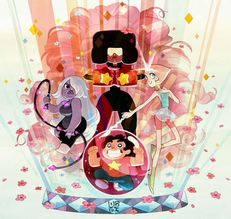 Fan Art cartoons steven universe - 8562030080