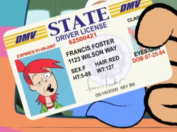 fosters home for imaginary friends cartoons DMV - 8562108160