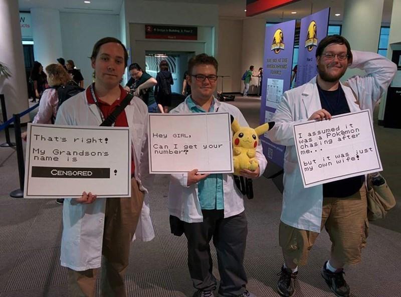 Pokémon cosplay Professors - 8562336512
