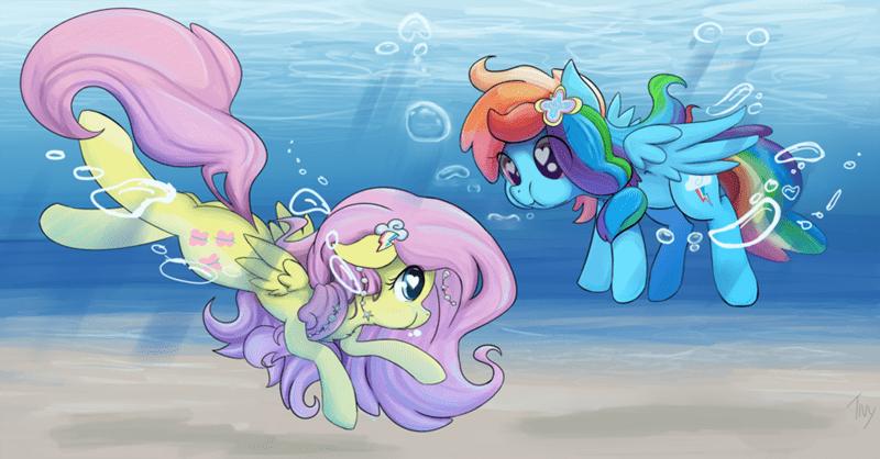 my-little-brony-pegasus-under-water-art