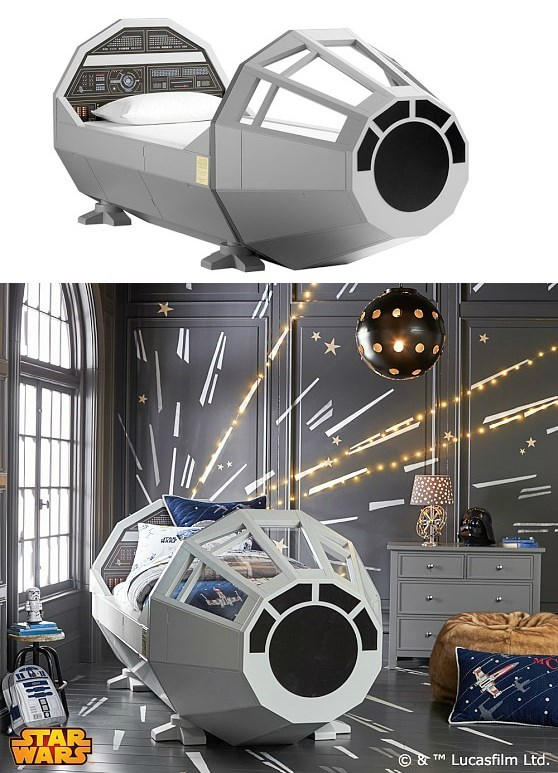 geeky-merch-pottery-barn-kids-millenium-falcon-star-wars-bed