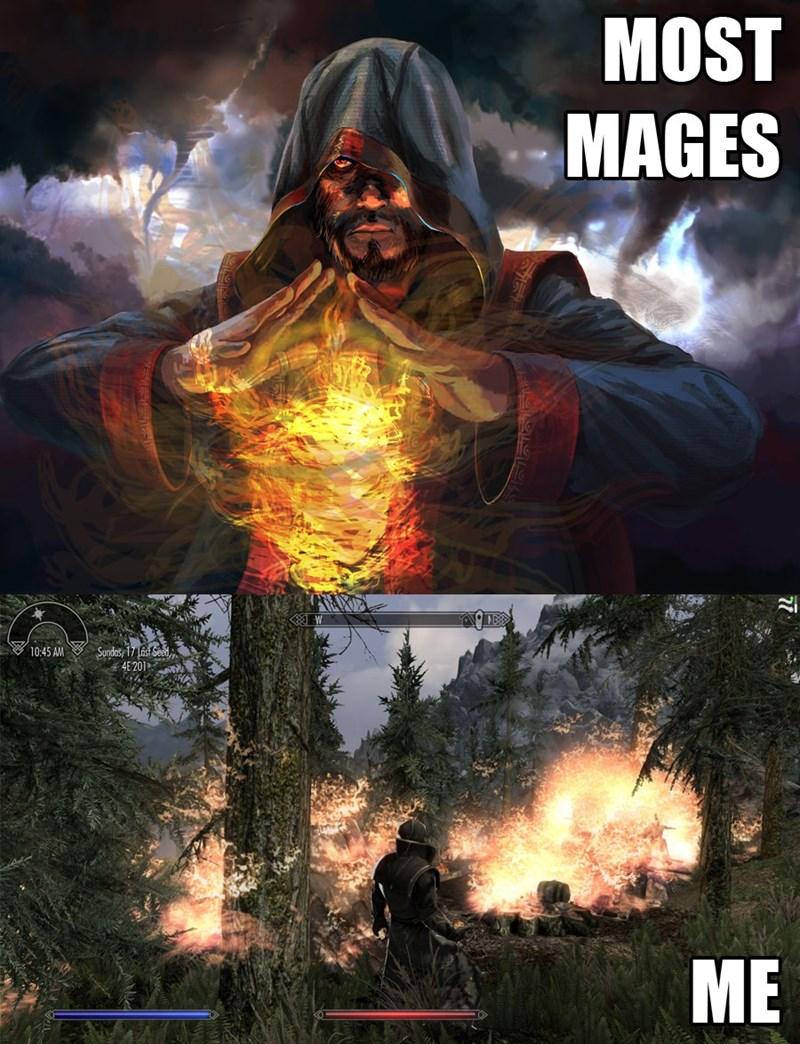 mages Skyrim