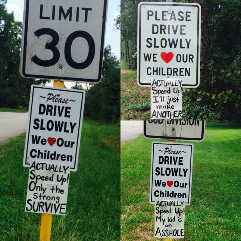 funny-parent-quotes-please-drive-slowly
