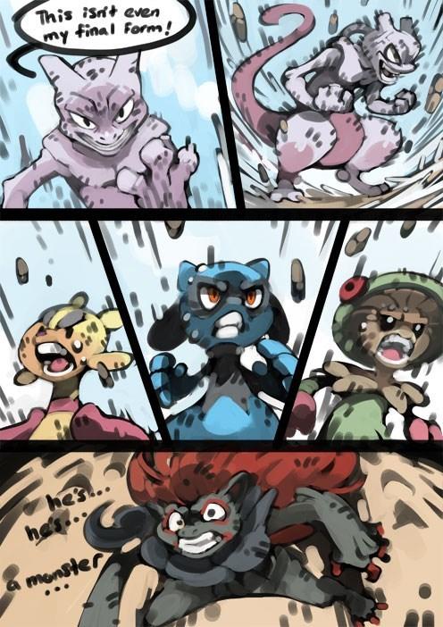 pokemon memes mewtwo final form