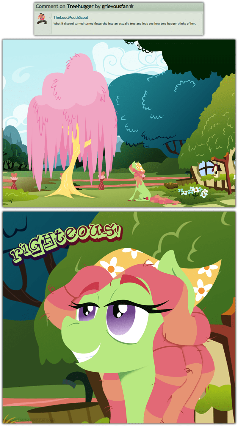 tree hugger fluttertree Rule 34 - 8562708736
