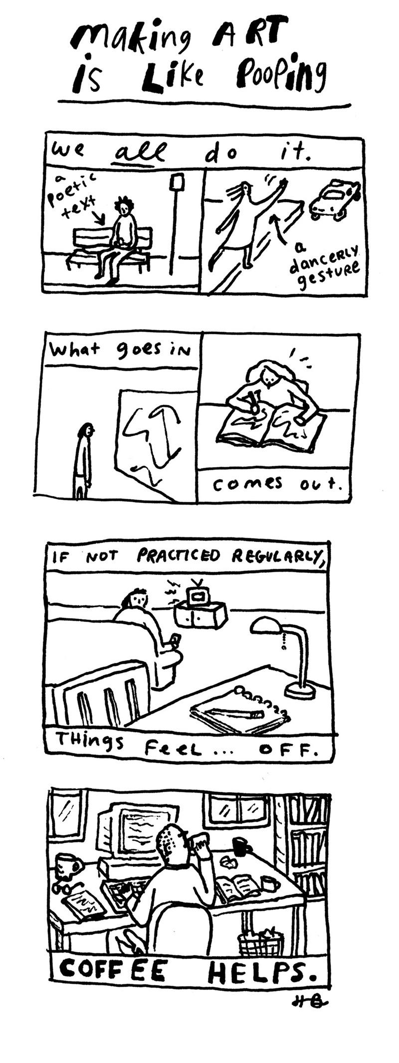 funny-web-comics-making-art-is-like-pooping
