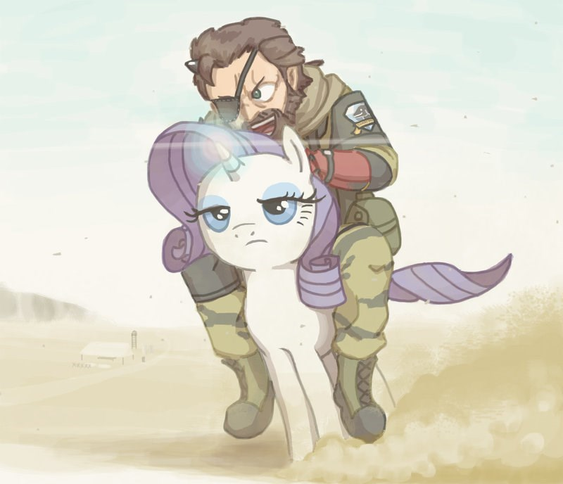 my-little-brony-metal-gear-solid-rarity-diamond-detector-art