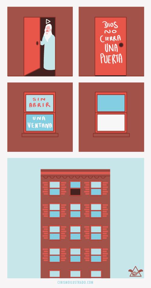 no cierra una puerta