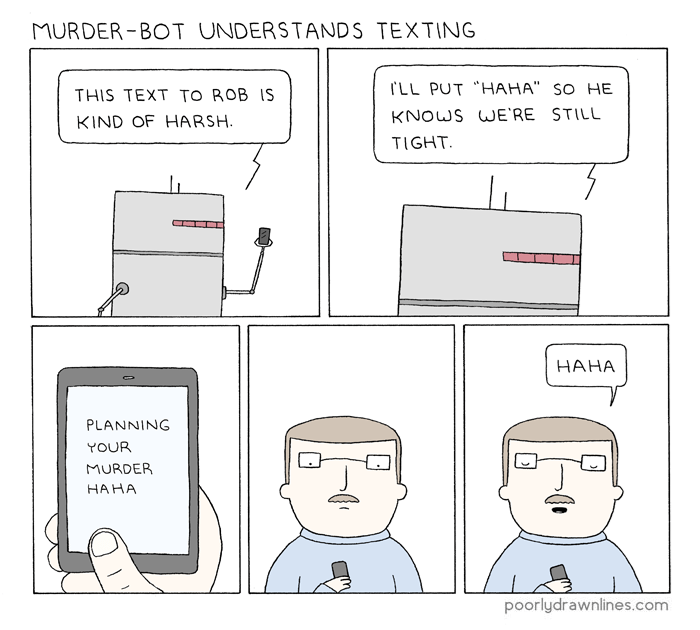 funny-web-comics-this-robot-understands-texting-better-than-my-parents