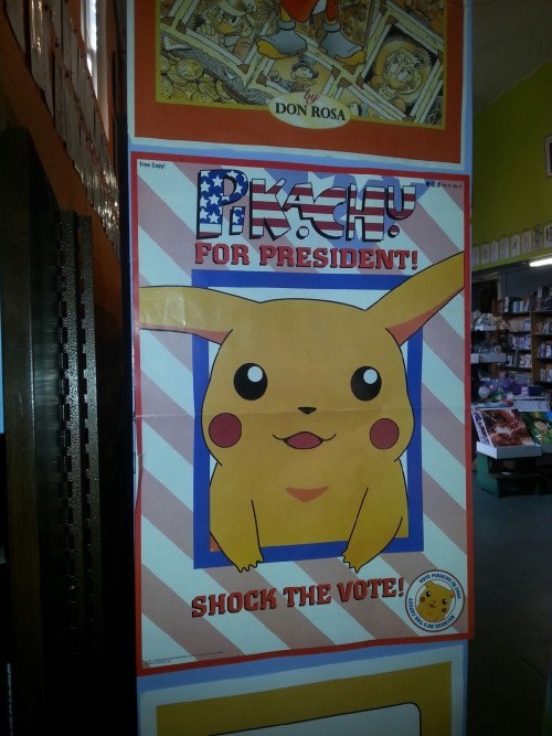 pokemon memes pikachu for president