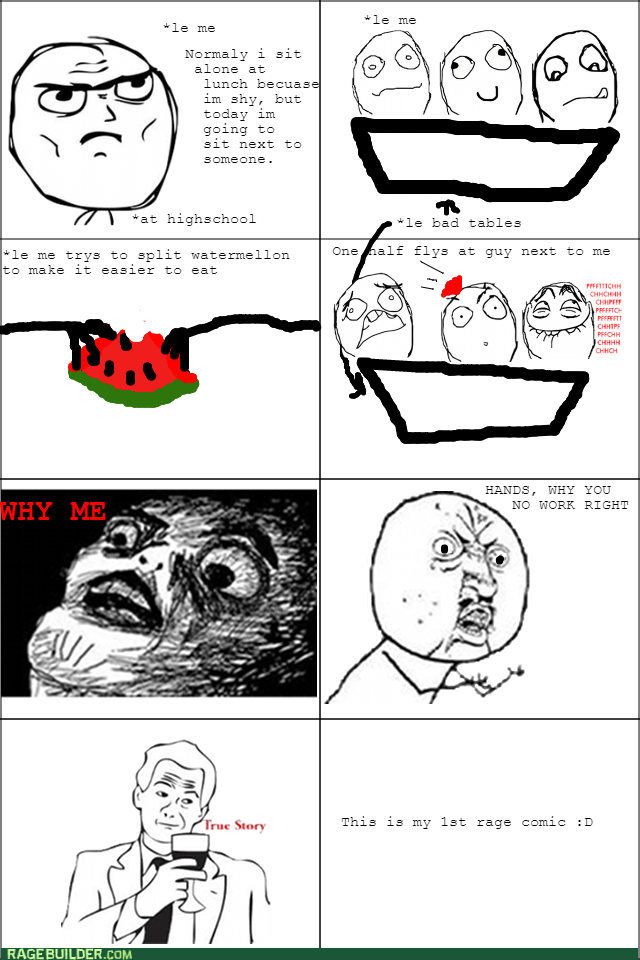 Awkward lunch watermelon
