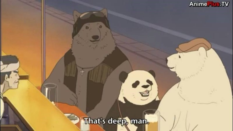 bears,anime,shirokuma cafe