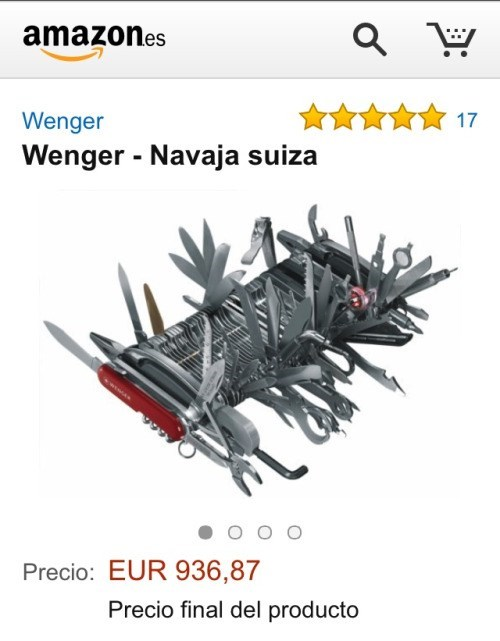 navaja suiza en amazon