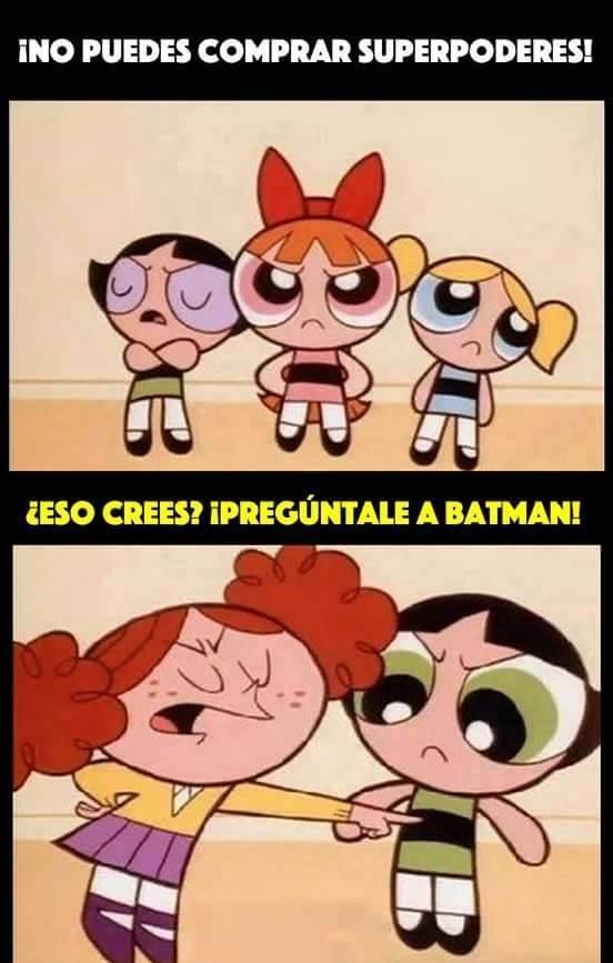 batman puede comprar poderes