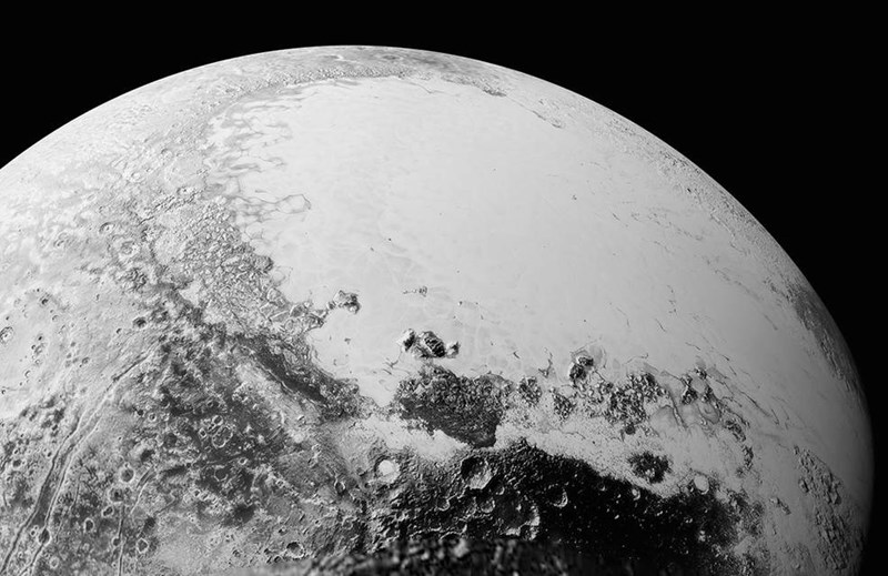 NASA released some simply amazing pictures of Pluto