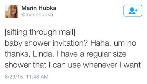 The Correct Response To A Baby Shower Invite Failbook Failing On