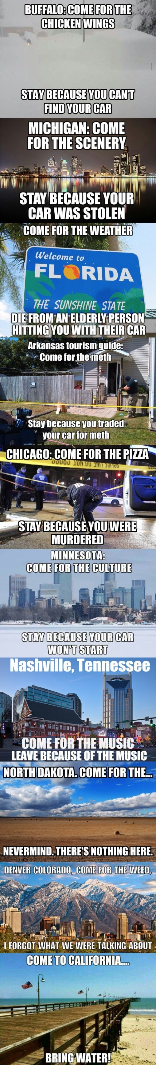 funny memes honest city state mottos