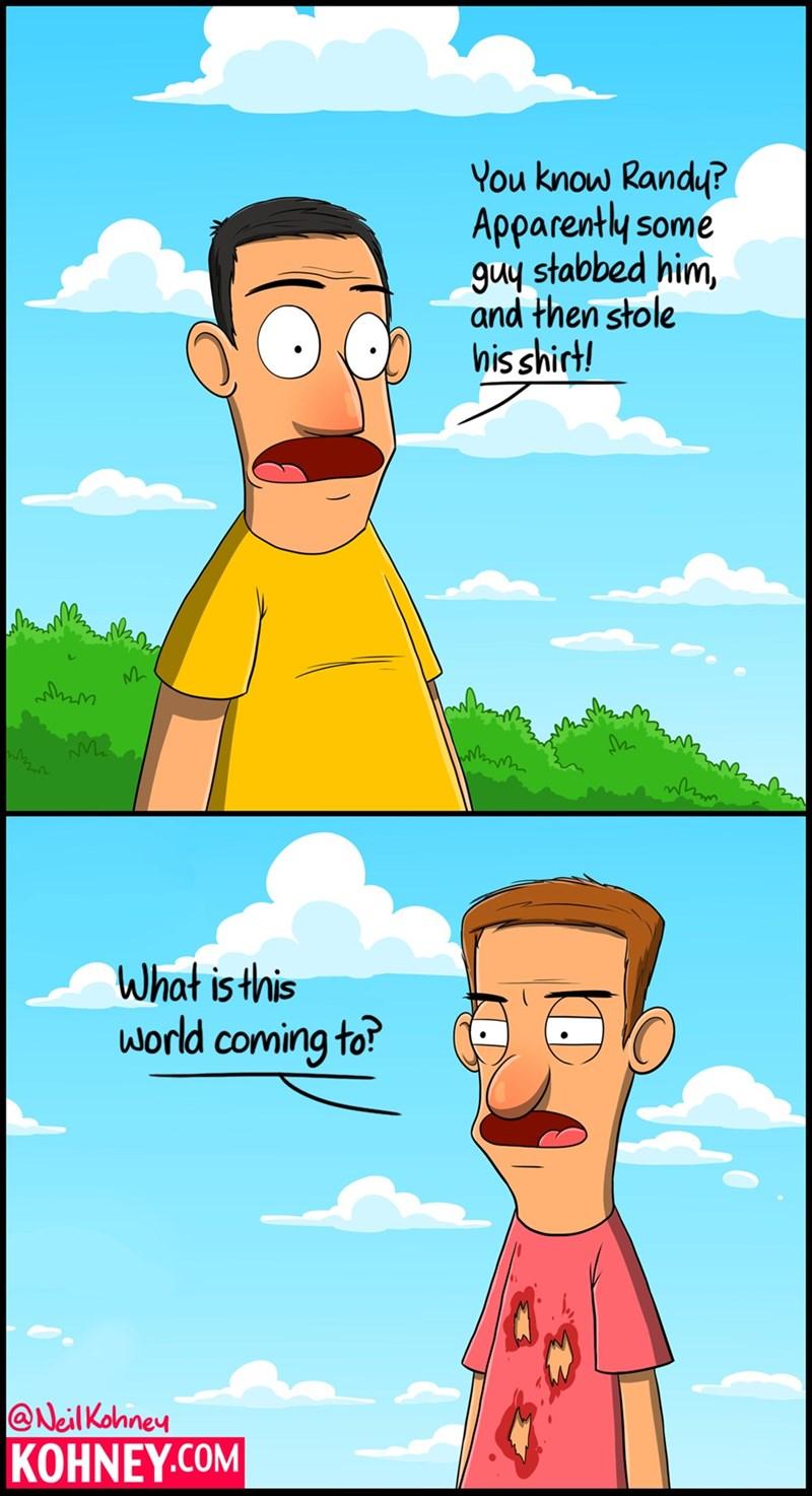 sad but true t shirts stabbing web comics - 8563679744