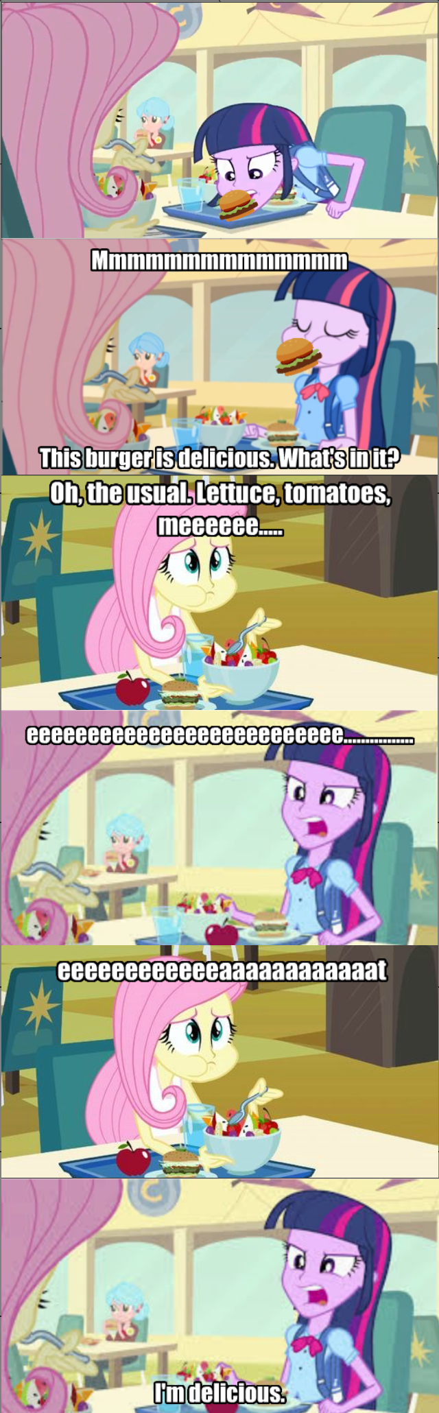 twilight sparkle vegetarian fluttershy - 8563747072