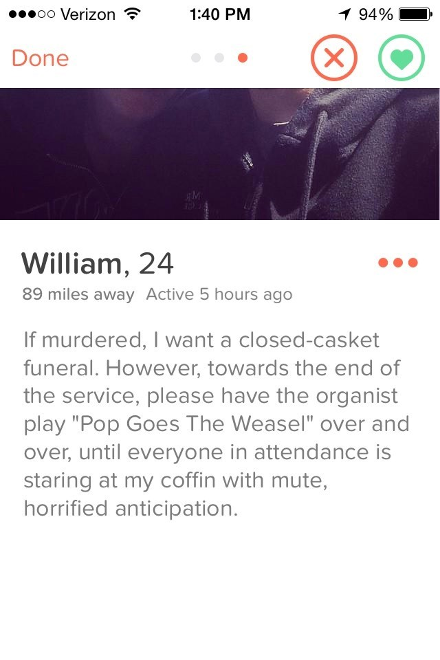 Now This is How You Impress Someone With Your Tindr Profile