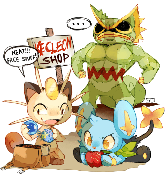 Don't Steal From Kecleon