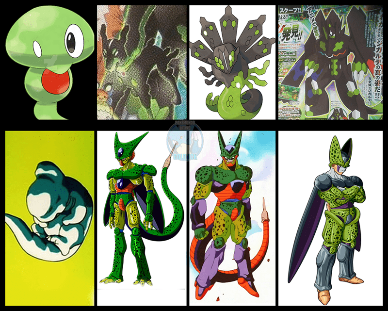 New Zygarde forms. The Perfect One is the Best