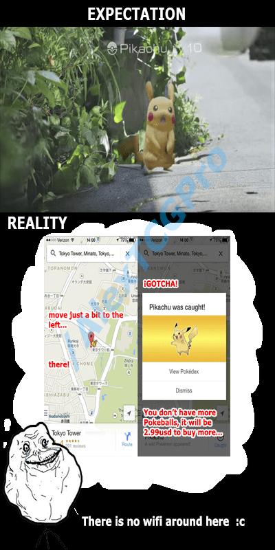 expectations vs reality pokemon go - 8564143360