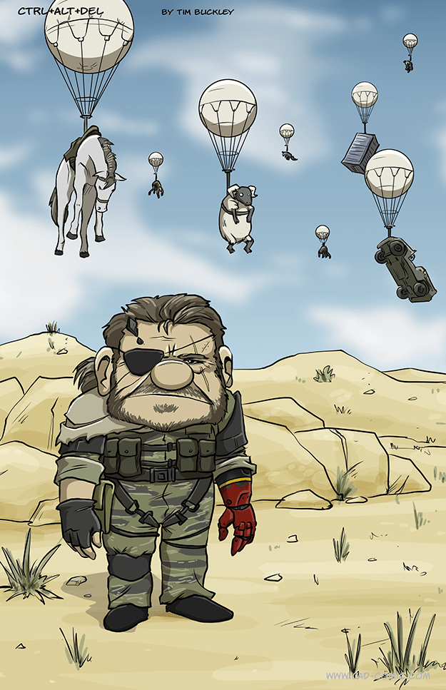 cartoon memes metal gear solid up crossover