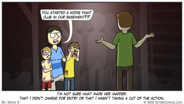 gifs kids parenting fight club - 8564308992