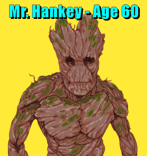 Mr. Hankey - Age 60
