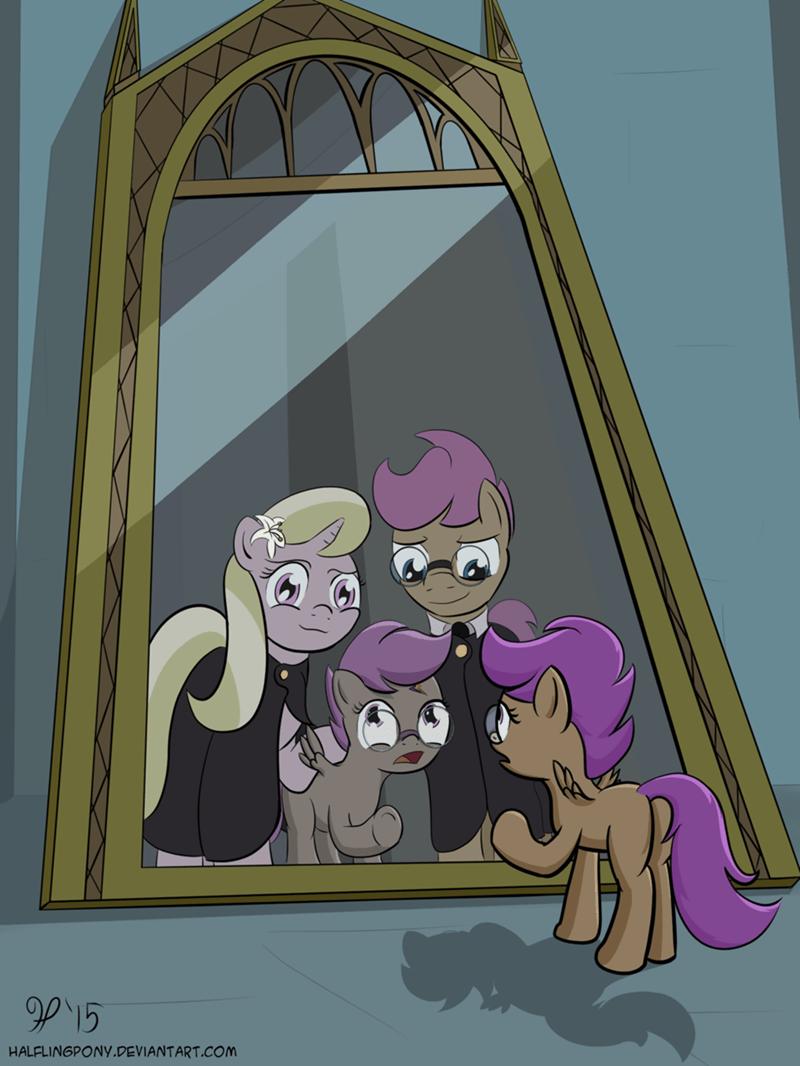 The Pony Mirror of Erised