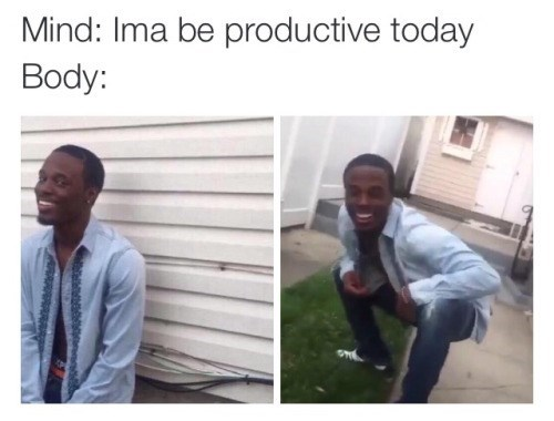 funny memes why you lyin about being productive