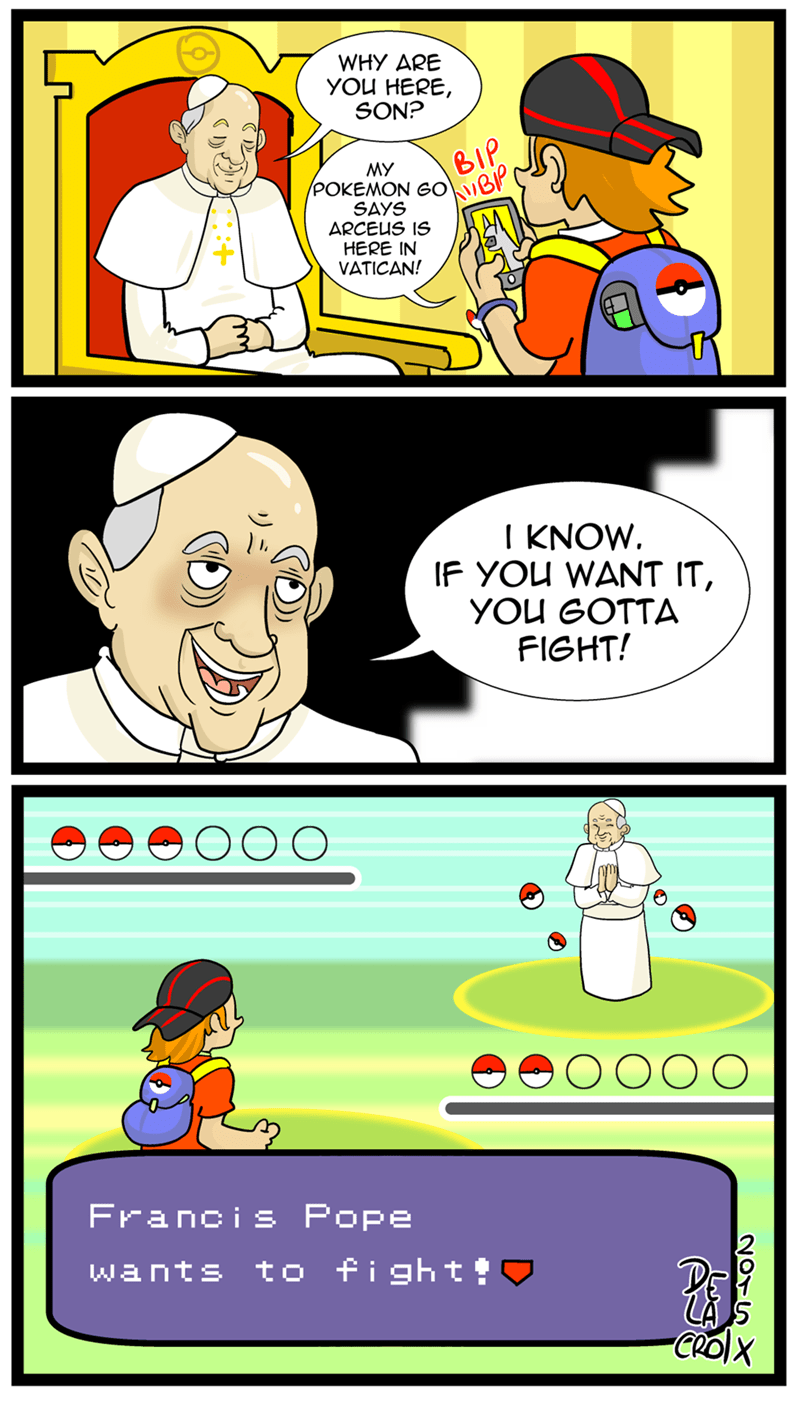 Trips to the Vatican Will Never be the Same After Pokémon Go