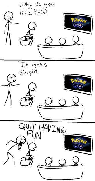 pokemon memes trashing pokemon go