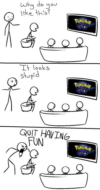 pokemon memes trashing pokemon go