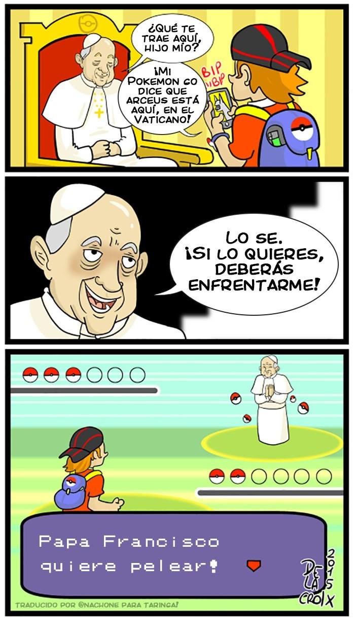 pokemon en el vaticano