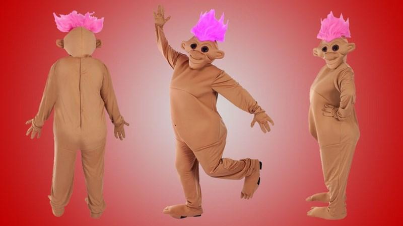 costume horror terror halloween troll nightmare dark - 8565172992