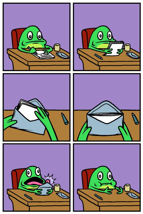 ranas y correo