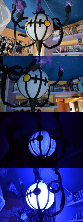 pokemon memes chandelure lamp